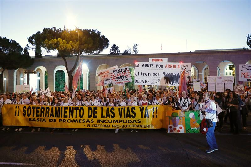 "Eurochamber defends that burying the AVE in Murcia ""is the only option"""